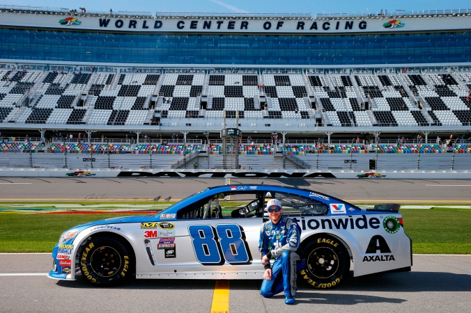 """NASCAR Sprint Cup Series Daytona 500 - Practice"""