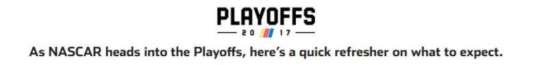 nascar playoffs header